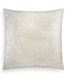 "Hotel Collection Alabastar Sequin 20"" Square Decorative Pillow, Created for Macy's"