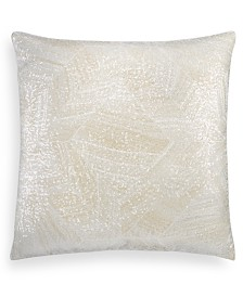 """Hotel Collection Alabastar Sequin 20"""" Square Decorative Pillow, Created for Macy's"""