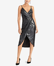 RACHEL Rachel Roy Nisha Sequined Tulip-Hem Dress, Created for Macy's
