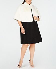 Trendy Plus Size Faux-Fur Shrug