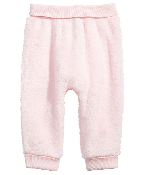 e9add0b58 First Impressions Baby Girls or Baby Boys Fleece Jogger Pants, Created for  Macy's