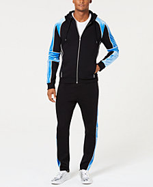 I.N.C. Men's Boulder Track Jacket & Jogger Pants Separates, Created for Macy's