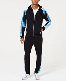 I.N.C. Men's Boulder Track Jacket & Jogger Pants Separates, Created for Macy's