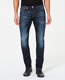 True Religion Men's Whiskered Skinny Jeans