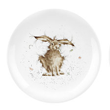 "Portmeirion Wrendale  Rabbit Plate ""Hare Brained"" - Set of 4"