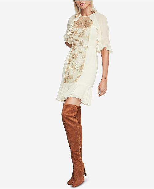 4c84a825 BCBGMAXAZRIA Metallic Floral Sequin Dress; BCBGMAXAZRIA Metallic Floral  Sequin Dress ...