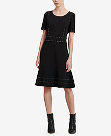 DKNY Embellished Dress, Created for Macy's