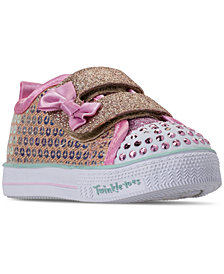 Skechers Toddler Girls' Twinkle Toes: Shuffle Lite - Mini Mermaid Light-Up Casual Sneakers from Finish Line