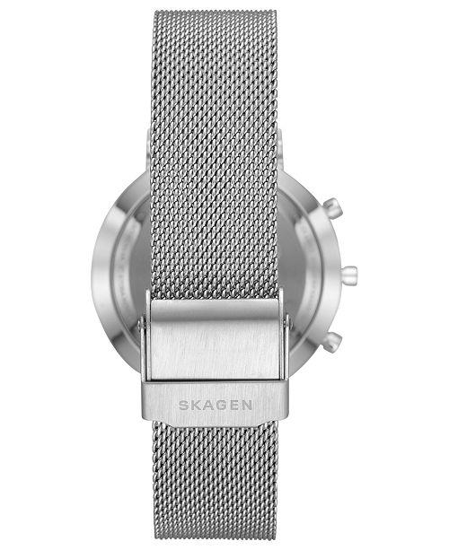 270663d98dbfc ... Skagen Women s Mini Hald Stainless Steel Mesh Bracelet Hybrid Smart  Watch ...