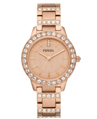classic gold women rose tone steel bracelet s dp color guess com watches stainless watch amazon model