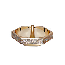 Waterford Lismore Diamond Gold Ring Holder