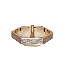 Waterford Lismore Diamond Gold Ring Holder
