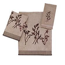 Avanti Laguna Embroidered Bath Towel