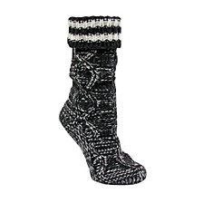 Varsity Stripe Slipper Sock