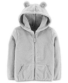 Carter's Toddler Girls Hooded Faux-Sherpa Jacket