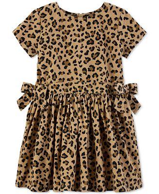 Carter S Toddler Girls Cheetah Print Cotton Dress Reviews