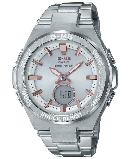 ... G-Shock Women s Solar Analog-Digital Stainless Steel Bracelet Watch  38.4 ... b4aabb0eb1