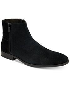 Calvin Klein Men's Luciano Suede Zip Boot