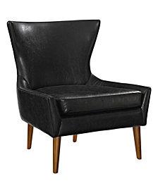 Keen Upholstered Vyl Armchair