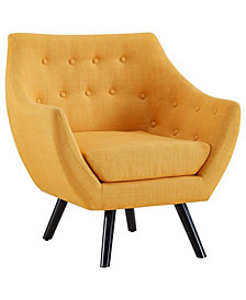 Modway Allegory Armchair in Mustard
