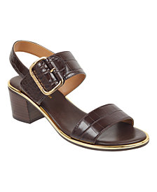 Tommy Hilfiger Katz Block-Heel Dress Sandals