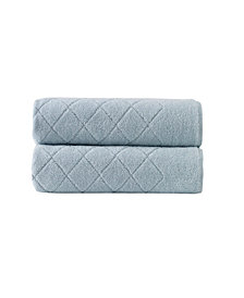 Enchante Home Gracious 2-Pc. Bath Towels Turkish Cotton Towel Set