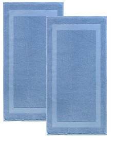 Enchante Home Signature 2-Pc. Turkish Cotton Bath Mat Set