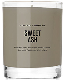 Baxter Of California Sweet Ash Scented Candle, 6-oz.