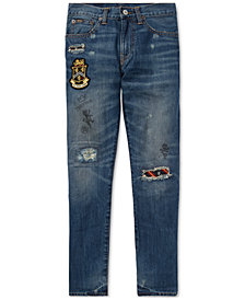 Polo Ralph Lauren Big Boys Sullivan Slim Collegiate Cotton Jeans
