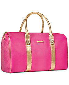 Receive a Complimentary Duffel with any large spray purchase from the Juicy Couture fragrance collection