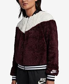 Nike Sportswear Fleece Bomber Jacket