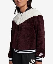 Nike Sportswear Fleece Bomber Jacket