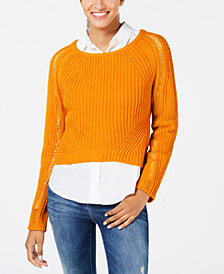 6c0536f5a3 Freshman Juniors  Cropped Sweater