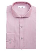 Bar III Men s Slim-Fit Stretch Connected Diamond Dobby Dress Shirt 11ed4e24d48