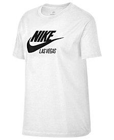Nike Cotton Sportswear Las Vegas Logo T-Shirt