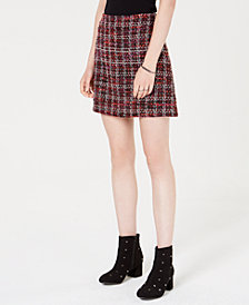 Maison Jules Tweed Mini Skirt, Created for Macy's