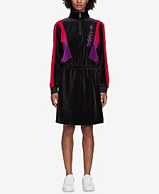 adidas Originals Velour Colorblocked Dress