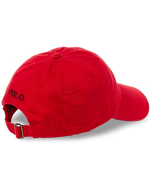 Polo Ralph Lauren Men s Chino Cotton Baseball Cap - Hats 0bd9cff7f00
