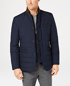 Tasso Elba Men's Gino Quilted Blazer, Created for Macy's