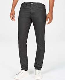 Mens Deconstructed Slim-Fit Jeans, Created for Macy's