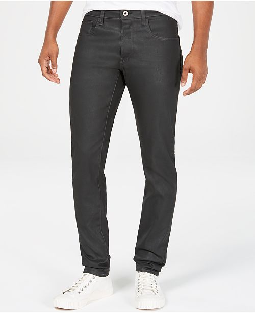 G-Star Raw Mens Deconstructed Slim-Fit Jeans, Created for Macy's