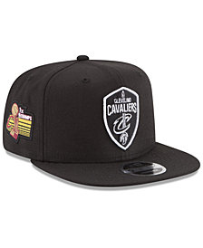 New Era Cleveland Cavaliers Anniversary Patch 9FIFTY Snapback Cap