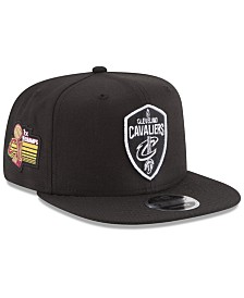a3680178 New Era Cleveland Cavaliers Anniversary Patch 9FIFTY Snapback Cap