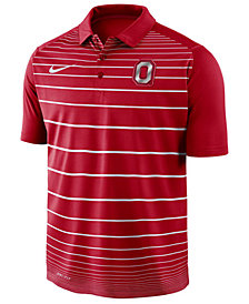 Nike Men's Ohio State Buckeyes Striped Polo