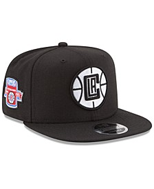 Los Angeles Clippers Anniversary Patch 9FIFTY Snapback Cap