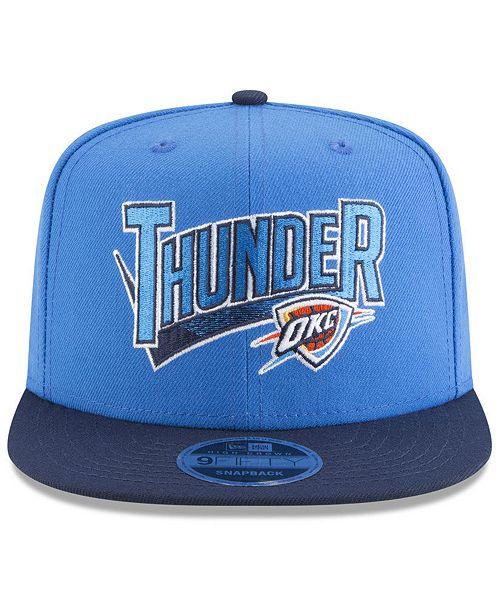 ... ireland new era oklahoma city thunder retro tail 9fifty snapback cap  sports fan shop by lids fe5d50016c95