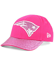 New Era Girls' New England Patriots Shimmer Shine Adjustable Cap