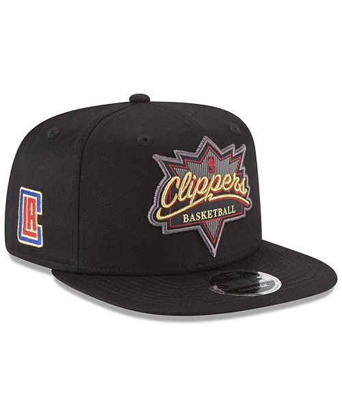 New Era Los Angeles Clippers Retro Showtime 9FIFTY Snapback Cap