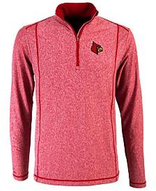 Antigua Men's Louisville Cardinals Tempo Quarter-Zip Pullover