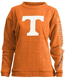 Pressbox Women's Tennessee Volunteers Comfy Terry Sweatshirt